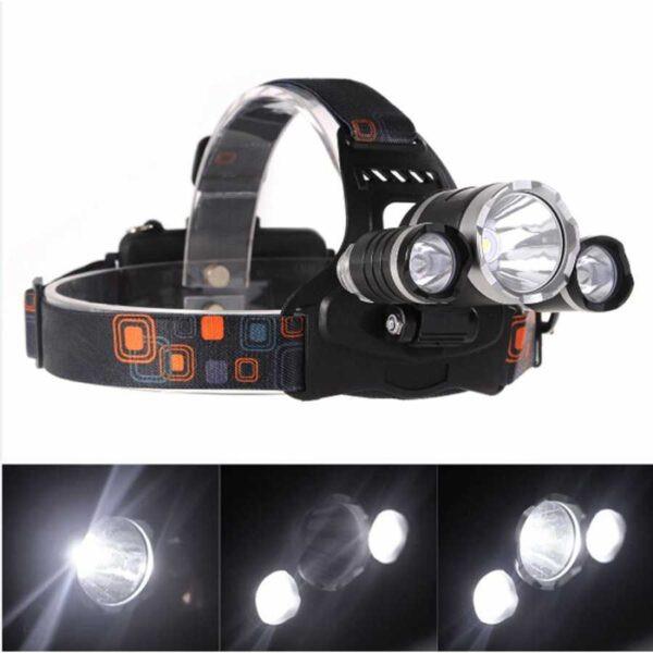 lanterna de cap led