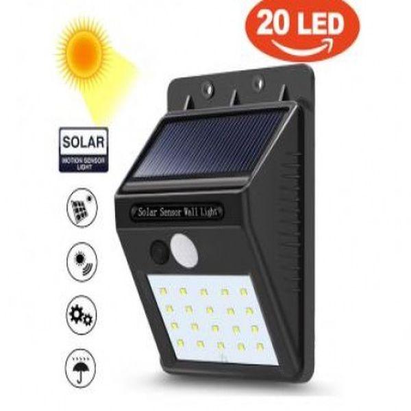 lampa solara cu senzor miscare