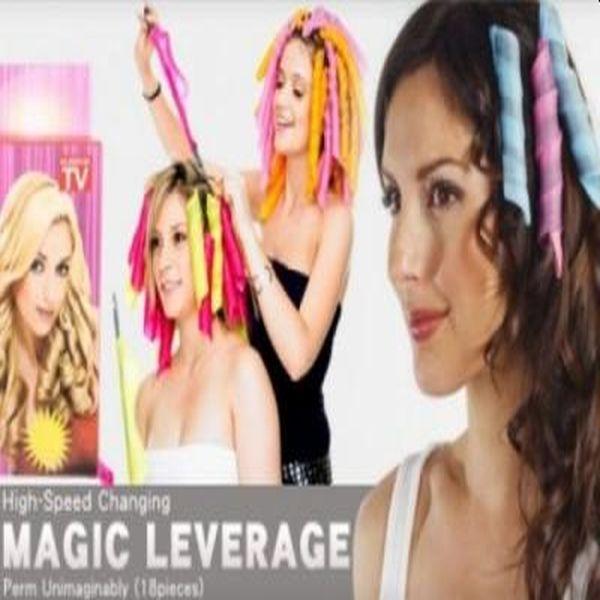 Bigudiuri flexibile Magic Levererag, pentru bucle definite par lung sau scurt