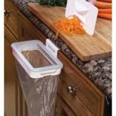 suport cu capac pentru sac de gunoi