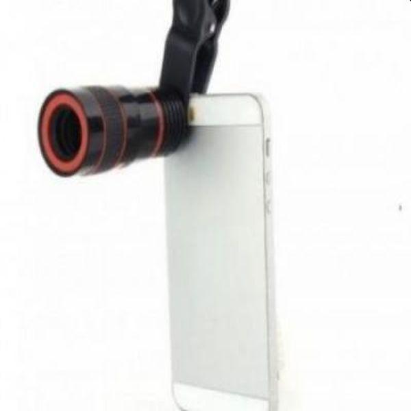 Telescop pentru telefon cu zoom 8x, compatibil cu iPhone si Android