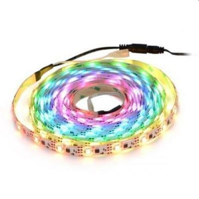 Banda LED, 5m lungime, multicolora, exterior/interior