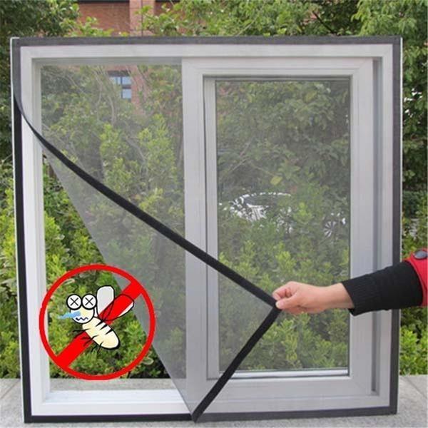 Plasa geam pentru țânțari, set 2 bucati