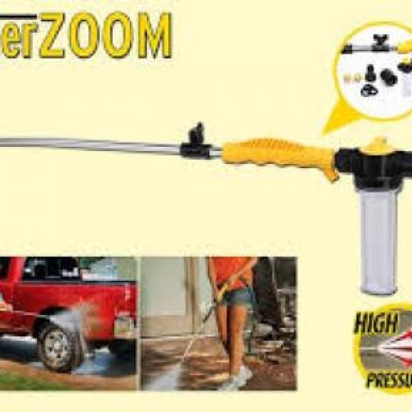 Pistol de spalat cu presiune, Water Zoom, cel mai eficient si rapid mod de a spala