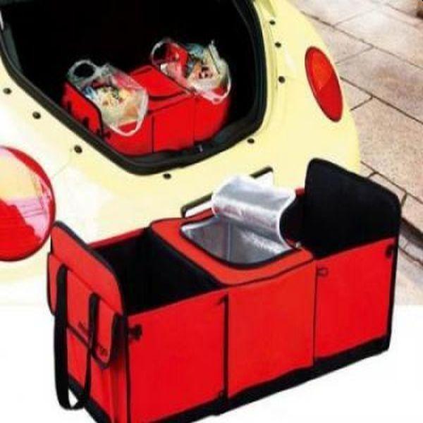 Organizator pentru portbagajul masinii, pliabil, cu suprafata aderenta, incapator si rezistent!