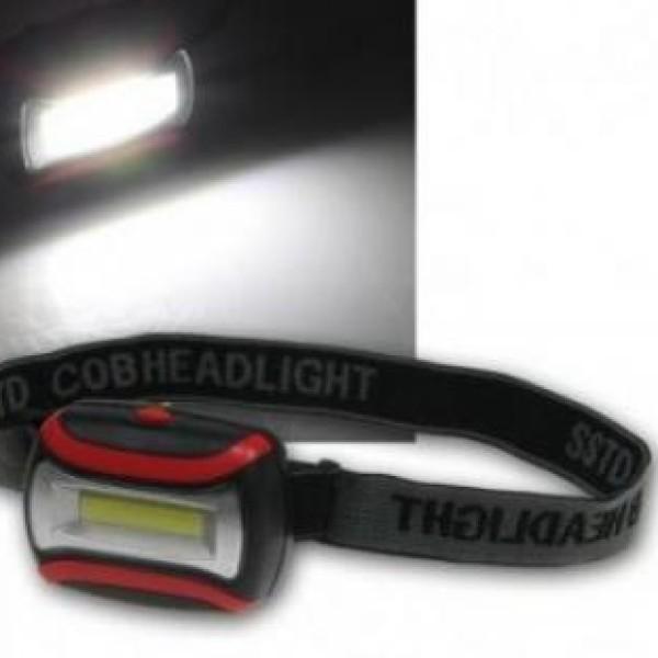 Lanterna led, de cap reglabila cu trepte de iluminare, ideala pentru biciclisti