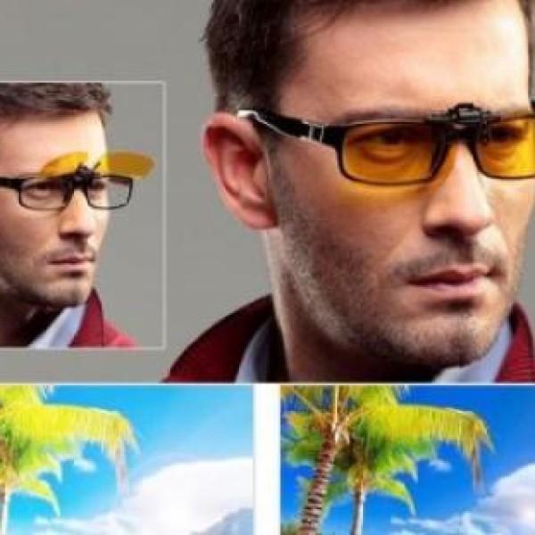 Lentile pentru soferi, de condus noaptea, atasabile la ochelarii de vedere
