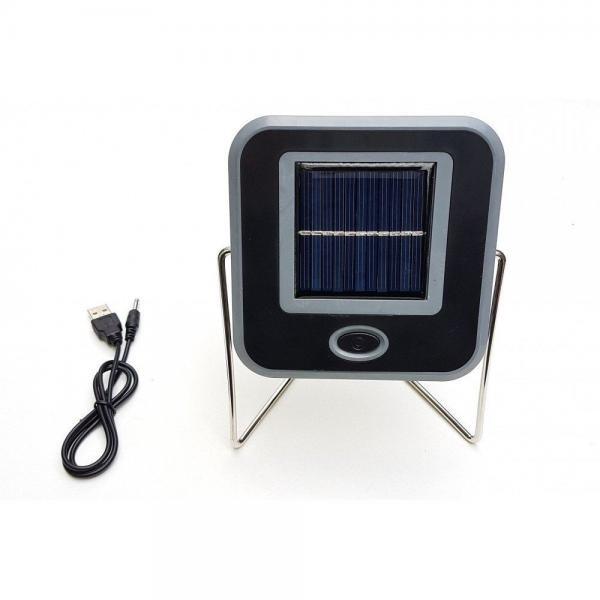 Proiector solar 10 w, cu USB pt incarcare la priza, 15 ore autonomie