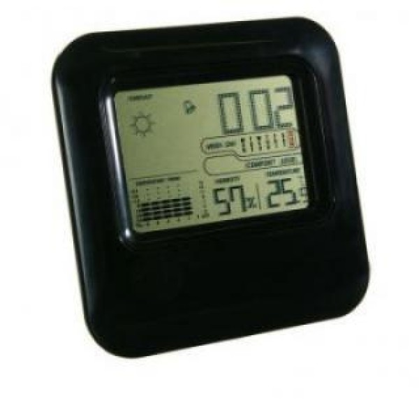 Statie meteo wireless digitala cu indicator de umiditate, prognoza si ceas