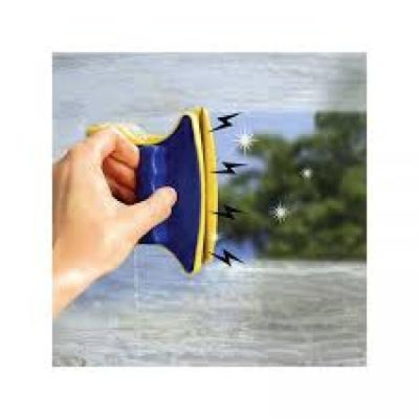 Aparat magnetic pentru stergerea geamurilor inalte si a zonelor greu accesibile, Magic Cleaner