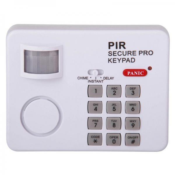 Alarma wireless cu senzor de miscare, simplu de instalat, cu sunet puternic