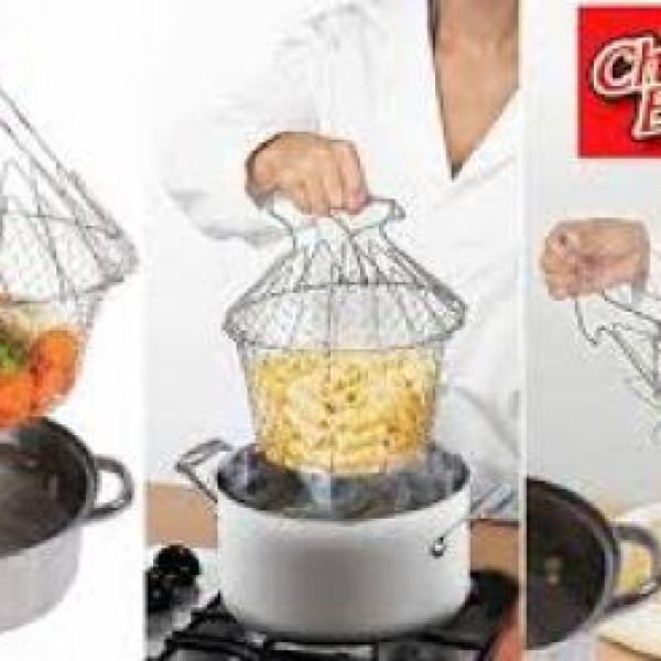 Cos pentru cartofi prajiti sau paste Chef Basket - 2 bucati