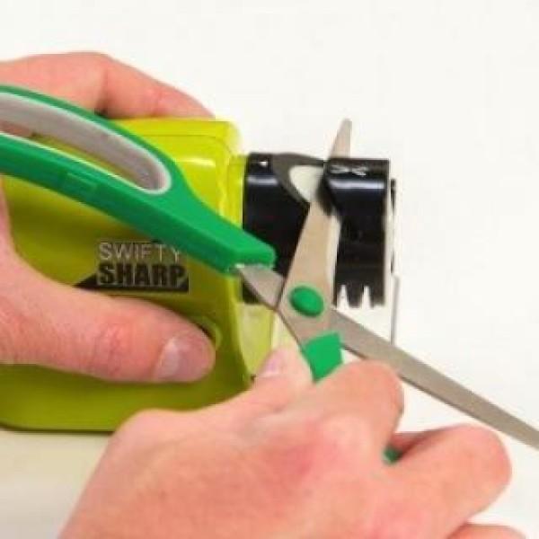 Ascutitor electric portabil pentru cutite, foarfeca de gradina