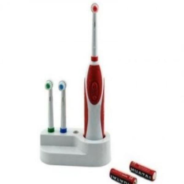 Periuta electrica cu 3 capete de rezerva, pentru albirea si curatarea dintilor