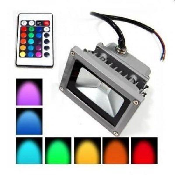 Proiector LED RGB 10W, joc de lumini prin telecomanda