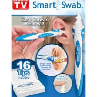 Aparat de curatat urechile Smart Swab in forma de spirala