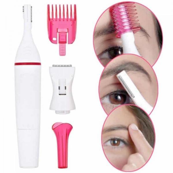 Trimmer facial pentru femei pentru o epilare perfecta, fara dureri, special pentru zone sensibile