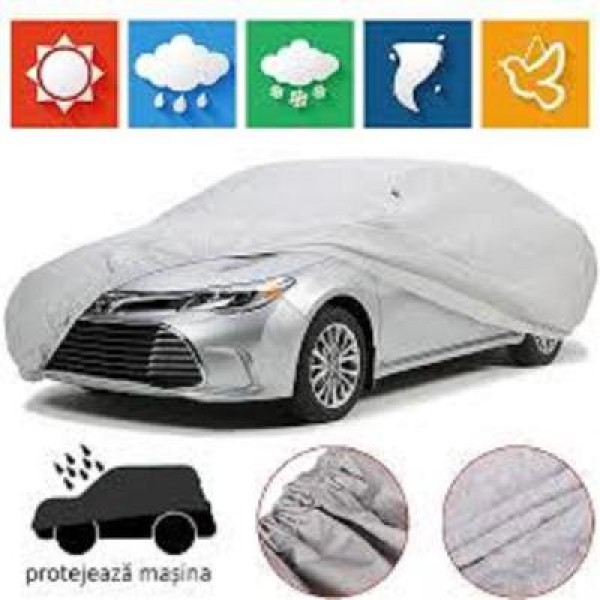 Prelata pentru masina sedan, protejeaza de inghet, ploaie si grindina