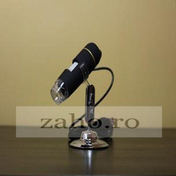 Microscop electronic digital, portabil, imagine LIVE pe calculator