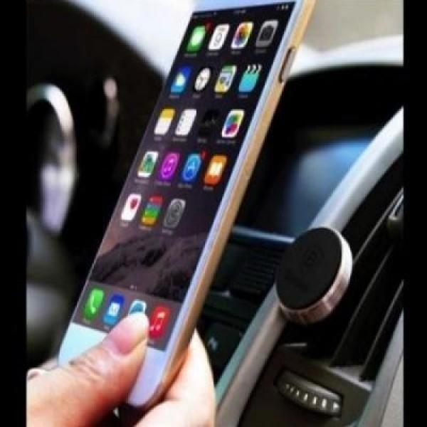 Suport magnetic telefon pentru grila auto