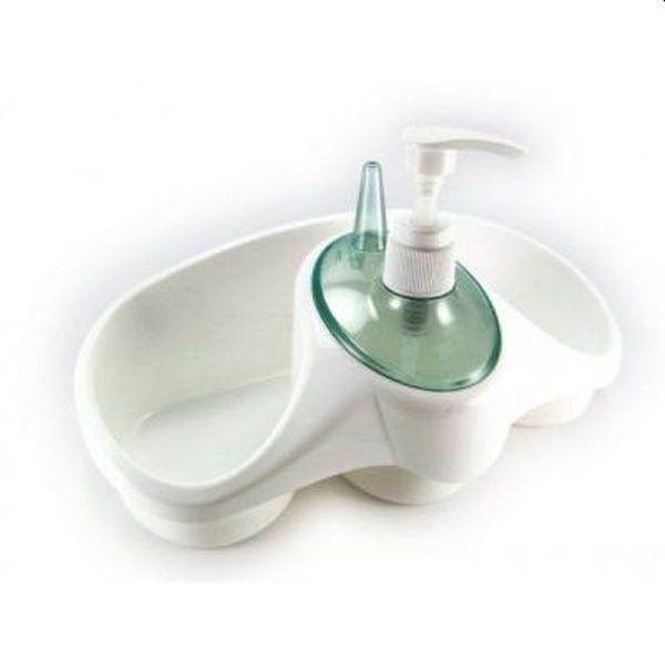 Suport organizator pentru bucatarie: burete, detergent si accesorii