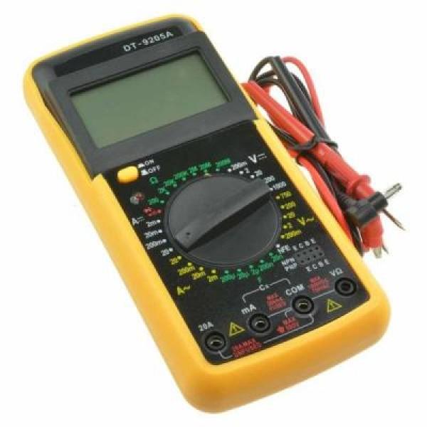 Multimetru digital, pentru tensiune AC/DC, rezistenta, diode, continuitate