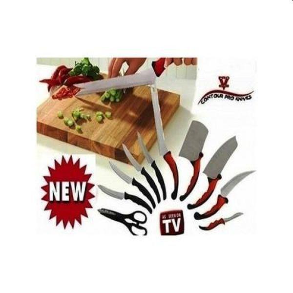 Set 11 cutite profesionale lama inox Pro Knives