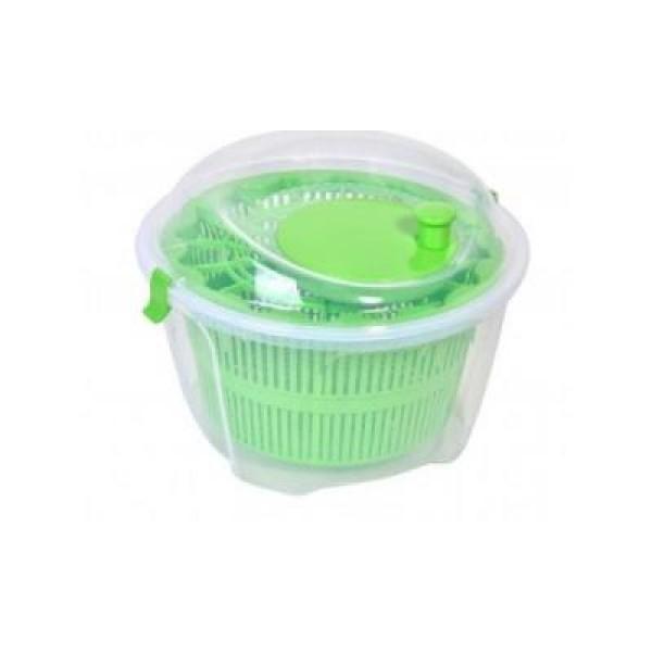 Dispozitiv pentru uscare salata verde, cu centrifuga si bol inclus