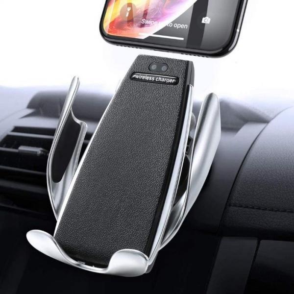 Incarcator auto cu sistem de prindere cu senzor