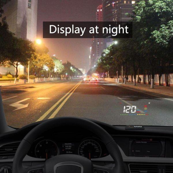 Proiector holograma pentru parbriz cu informatii de bord  Head Up Display