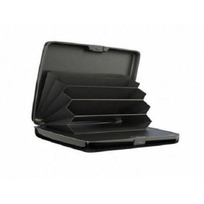 Portofel anti furt, securizat, cu baterie externa inclusa, pentru carduri