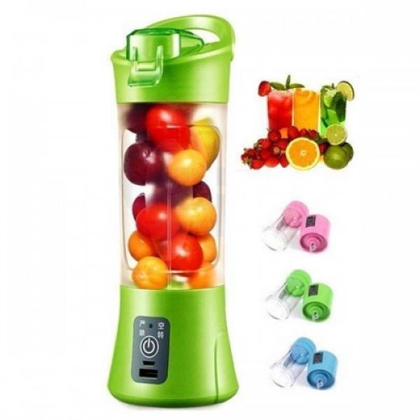 Blender portabil, cu baterie proprie de 2000mah, pentru fructe si legume
