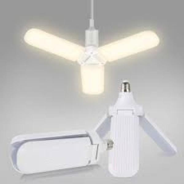 Lampa Led cu 3 brate ajustabile,E27,6500K, 45W, Warm white