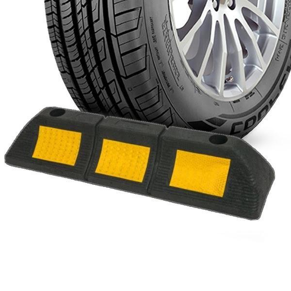 Opritor roti auto reflectorizant, pentru locul de parcare sau blocare roti