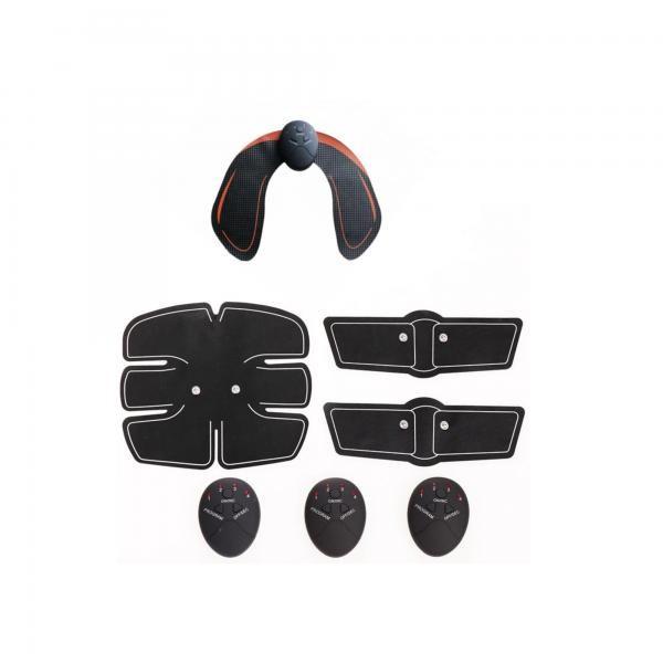 Kit fitness: Aparat pentru fitness + Centura pentru abdomen si brate