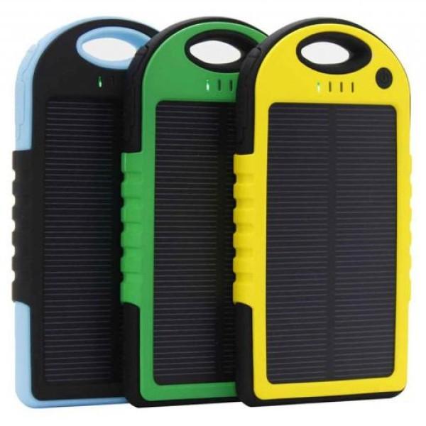 Incarcator solar 5000 mah pentru gadget-uri cu usb