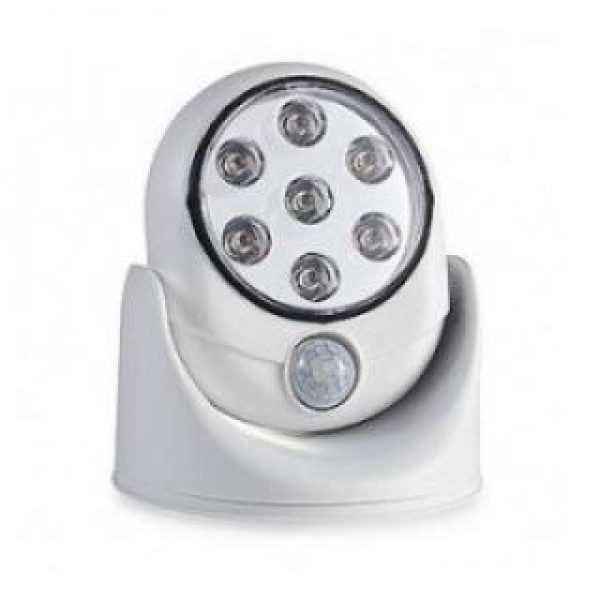 Lampa fara fir, Light Angel, cu 7 led-uri, senzor de miscare