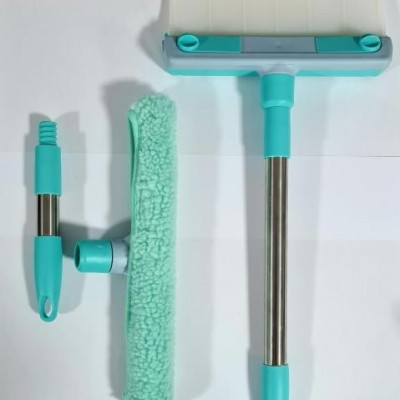 Racleta flexibila cu scurgator pentru spalat geamuri
