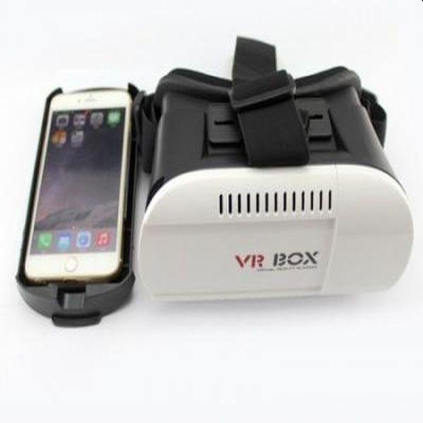 Ochelari smart realitate virtuala 3D VR BOX cu lentile reglabile